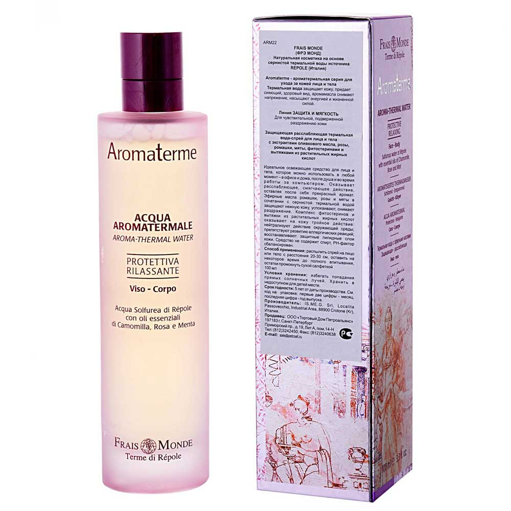 Frais Monde Aromaterme ���������� ������������� ���������� ����-����� (Protective Aroma-Thermal Water 100 ml)