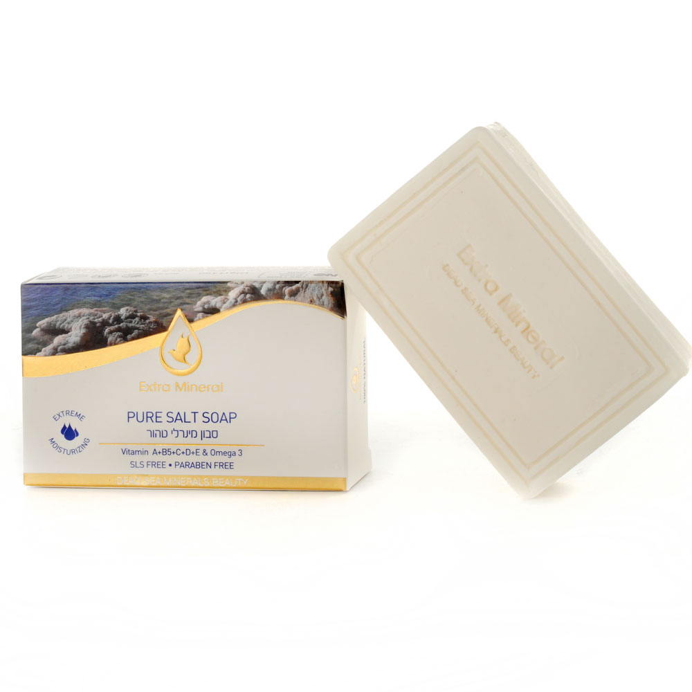 Extra Mineral ���� ������� (Pure Salt Soap 125 gr)