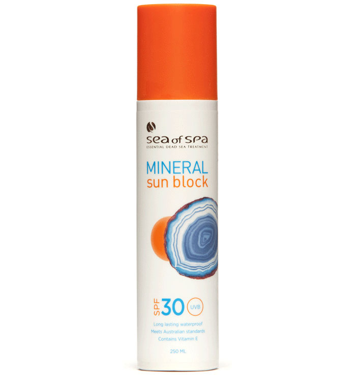 Sea of SPA Mineral Sun Block Защитный спрей от солнца SPF 30 (Protective Spray SPF30 250 ml)