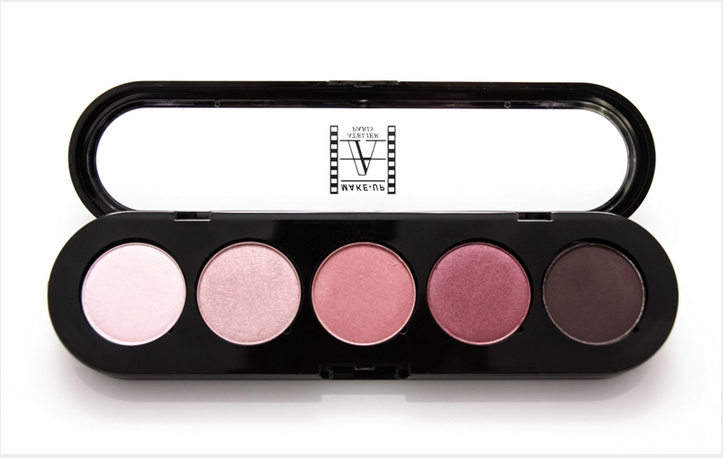 Make-Up Atelier Paris ���� ��� ��� ������������, ������� 5 ������ - ��������� - ��������� ���� (5 Colours Eyeshadows Palette 10 gr)